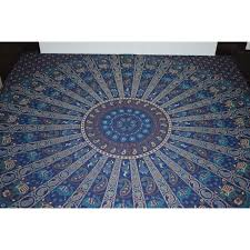 double bedhsheet cotton queen size indian mandala tapestry wall hanging home decor from usa zifiti com page