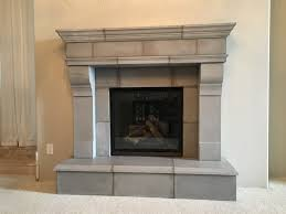 home design limestone fireplace hearth wood burning unit with natural stone surround and traditional mantel 9
