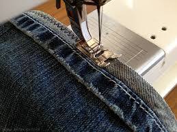 How To Hem Jeans With Sewing Machine