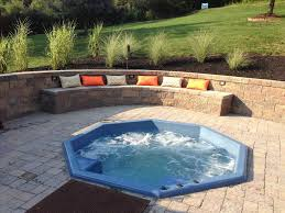 in ground hot tub designs surprise dealer inground spa glendale