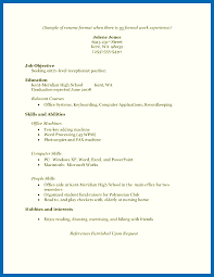 Resume High School Graduate Mesmerizing 44 Sample Resume For High School Graduate With No Experience Resume