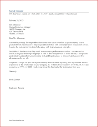 Resume Examples Of Resume Cover Letter