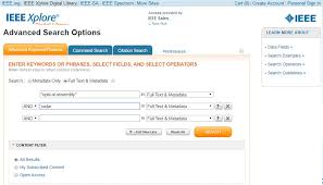 From Idea To Patent Prior Art Searching With Ieee Xplore More