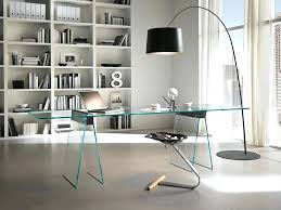 office furniture and design. Modern Home Office Desk Glass With Designer Furniture And Design
