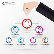 Umbrella Organization Chart Creative Organization Chart Infographic Design Template