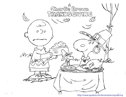 Small Picture Charlie Brown Thanksgiving Coloring Pages GetColoringPagescom