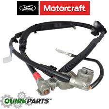 positive battery cable 2002 2007 ford focus battery cable positive negative oem motorcraft wc95755