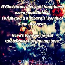 Christmas Quotes About Love Adorable Christmas Love Messages