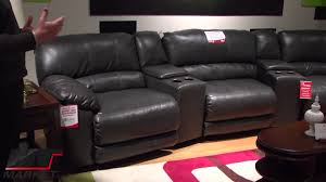 home theater sectional. lane rivers home theater sectional by furniture the - youtube t