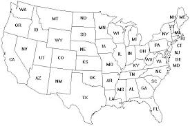 Usa Map Coloring Page