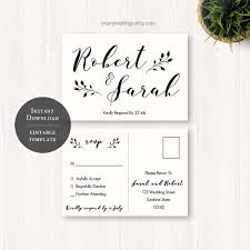 wedding rsvp postcards templates wedding rsvp postcard template free the best resume