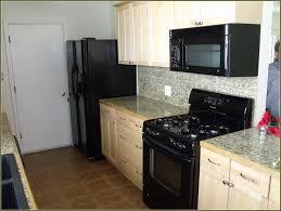 kitchen ideas white cabinets black appliances. Off White Kitchen Cabinets With Black Appliances Ideas