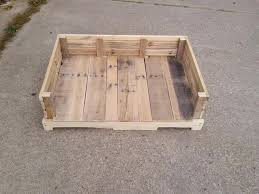 wooden dog bed plans how to make a dog bed out of a pallet square dog