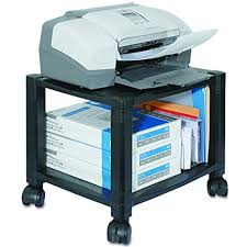 mobile printer stand. Modren Stand Kantek PS510 Mobile Printer Stand TwoShelf 17w X 13 14d In Stand L