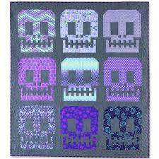 Tula Pink Sugar Skulls Quilt Pattern - Quilt Patterns, Kits ... & Sugar Skulls Quilt Pattern Adamdwight.com