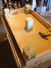 cabinets base. how to raise cabinets - learn we raised our base accommodate for a 2