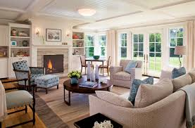 round living room furniture. Elegant Nice Design Of The Farmhouse Living Room Furniture That Has Cream Sofas Can Be Decor With Round Coffee Table Add Natural Touch Inside N