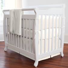 natural organic mini crib per carousel design black and white crib bedding set