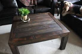 Pallet Wood Coffee Table Series  Knotthead Nate Custom Pallet Coffee Table Plans