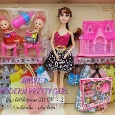 Búp bê Barbie 𝐅𝐑𝐄𝐄 𝐒𝐇𝐈𝐏 30 cm, có khớp 8 bộ váy, giày cao gót, túi  xách,... 𝐁H 𝟑𝟎 𝐍𝐠𝐚̀𝐲 tại TP. Hồ Chí Minh