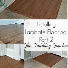 last week our resident diyer told us about her experience installing self stick laminate flooring in her home her first home renovation project