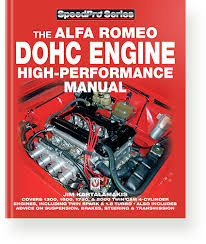 alfa romeo dohc high performance manual speedpro series now in colour and 10 years after original publication this latest edition contains a wealth of new information regarding twin spark cylinder head mods