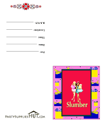 slumber party picture clip art clip art printable slumber party invitations cards dynasty 26481260411998125943