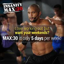 insanity max 30 workout schedule2