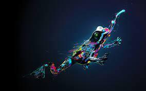 sports, colorful, illustration, digital ...