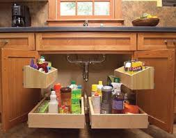 kitchen under counter storage ideas fafc cabinet shelf under sink storage ideas cabinet bath bins