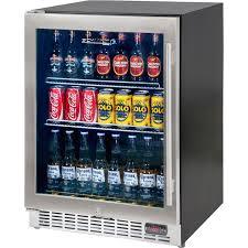 underbench glass door beer fridge quiet 10 yc150b 1