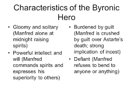 the r tic rebel and the byronic hero ppt video online  characteristics of the byronic hero