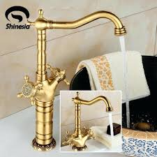 antique bronze bathtub faucets antique bronze bathroom sink faucet double handles mixer tap hot cold water