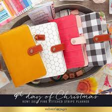 Mustard Suede Personal Planner Kit Websters Pages Color Crush