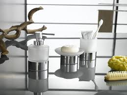 make modern look with contemporary bathroom accessories