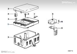 fuse box bmw 3 e30 320i m20 bmw parts catalog description