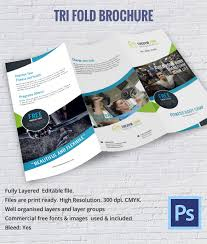 Trifold Brochure Indesign Template 10 Printable Trifold Templates Doc Psd Pdf Eps Indesign