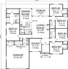 Florida Style House Plans   Square Foot Home   Story     Florida Style House Plans   Square Foot Home   Story  Bedroom and Bath  Garage Stalls by Monster House Plans   Plan     Pinterest