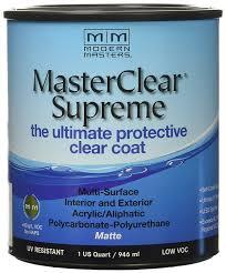 Modern Masters Mcs90132 Clear Coat Matte House Paint Amazon Com