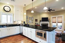 peninsula lighting. lighting over kitchen peninsula with black countertops ideas inside e