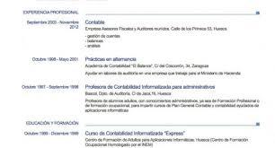 Greatest Ejemplos Resume Espanol Uy64 Documentaries For Change