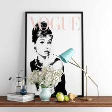 Großhandel Vogue Audrey Hepburn Poster ...
