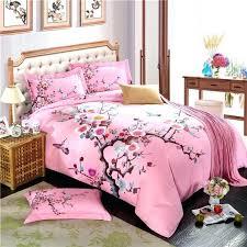 plum flower winter bedding sets 100 cotton sanding fabric duvet cover set bed linensplum covers king