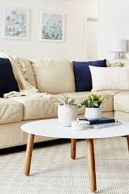 interior designers melbourne tlc interiors beige living room with leather sofa