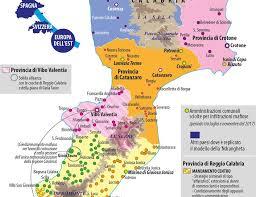 The 'ndrangheta mafia comes from calabria in southern italy. Carta Lo Heartland Della Ndrangheta Limes
