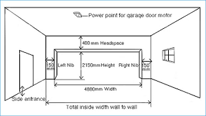 dimensions dryden doors we manufacture and install garage doors gates and automation