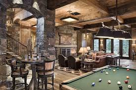 ultimate man cave rustic man cave ideas. View This Great Rustic Game Room With High Ceiling \u0026 Columns By Locati Architects. Discover Browse Thousands Of Other Home Design Ideas On Zillow Digs. Ultimate Man Cave