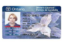 With Your High Replace Licence To Card Driver's Ont Security Tech