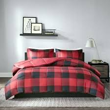 cabin themed bedding red plaid duvet cover black red plaid comforter set cabin themed bedding lumberjack cabin themed bedding