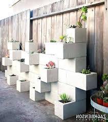 block wall ideas outdoor decor best of cinder decorating exterior back garden diy outdoo outdoor wall decor ideas room decorating